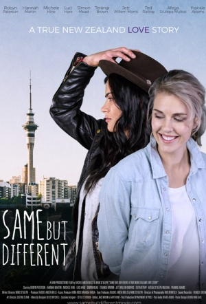 Same But Different: A True New Zealand Love Story Film Poster