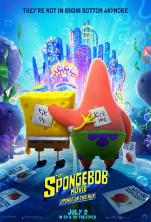 SpongeBob SquarePants 3 Film Poster