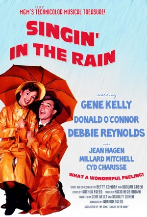 Singin' in the Rain Film Poster