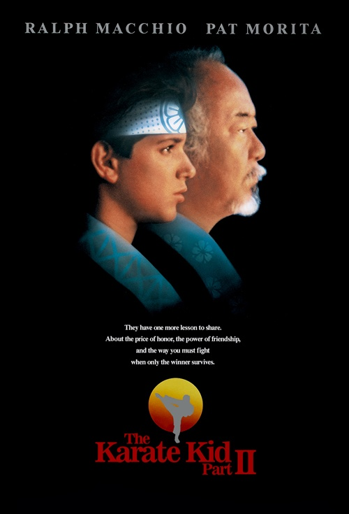 The Karate Kid Part II Film Poster