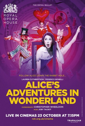Royal Ballet: Alice's Adventures in Wonderland Film Poster