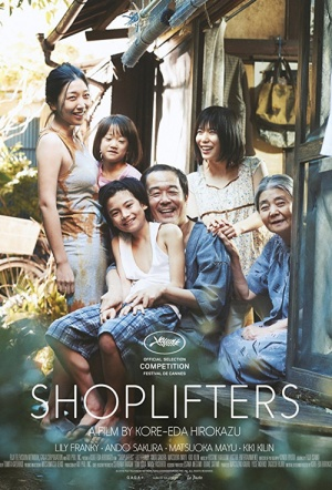 Shoplifters Film Poster