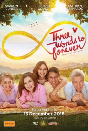 Three Words to Forever Film Poster