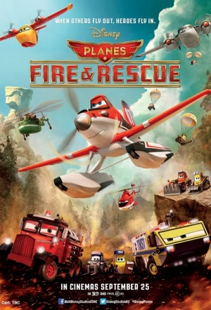 Planes: Fire & Rescue 3D Film Poster