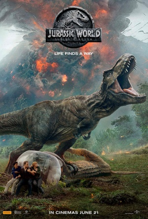 Jurassic World 3D: Fallen Kingdom Film Poster