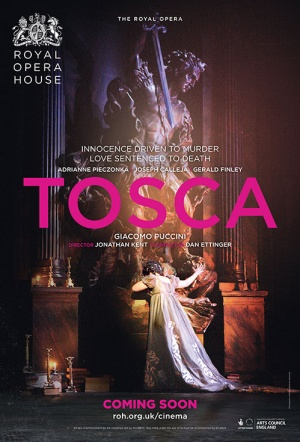 Royal Opera House: Tosca Film Poster