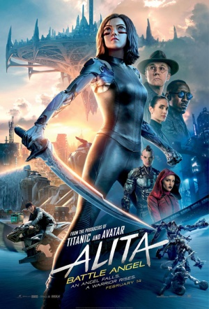 Alita 3D: Battle Angel Film Poster