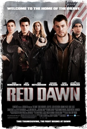 Red Dawn Film Poster
