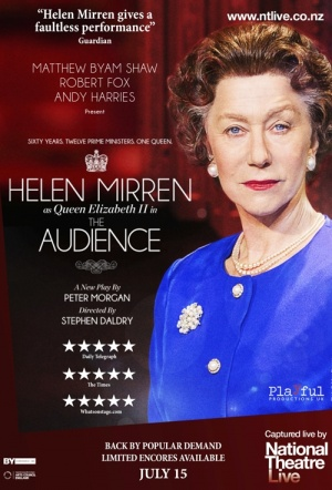 NT Live: The Audience Film Poster