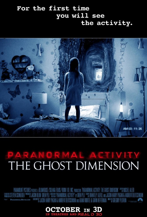 Delte Me : Paranormal Activity: The Ghost Dimension Film Poster