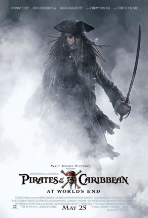 Pirates Of The Caribbean: At World's End Film Poster