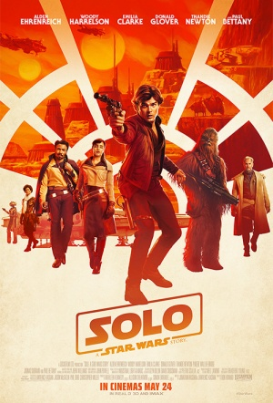 Solo 3D: A Star Wars Story Film Poster