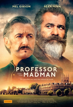 The Professor and the Madman Film Poster