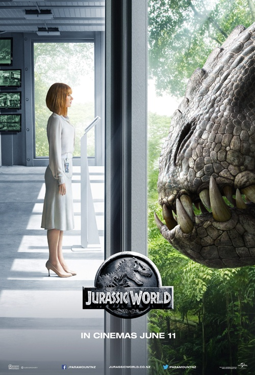 Jurassic World 3D Film Poster