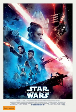 Star Wars 3D: The Rise of Skywalker Film Poster