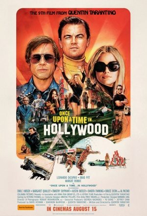 Once Upon a Time in Hollywood Film Poster