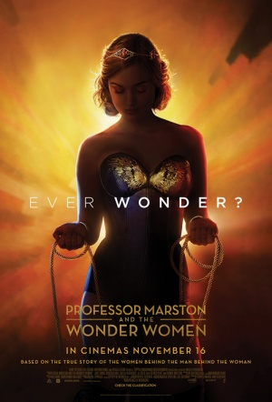 Professor Marston & the Wonder Women Film Poster