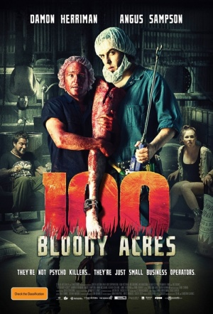 100 Bloody Acres Film Poster