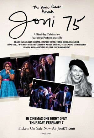 Joni 75: A Birthday Celebration Film Poster