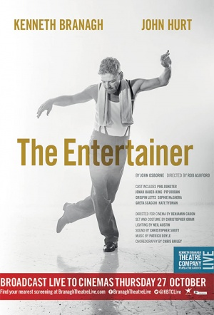 Branagh Theatre Live: The Entertainer Film Poster