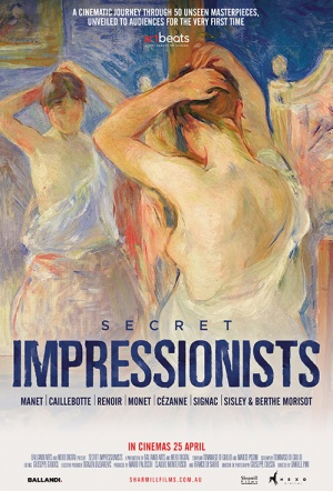 Art on Screen: Secret Impressionists