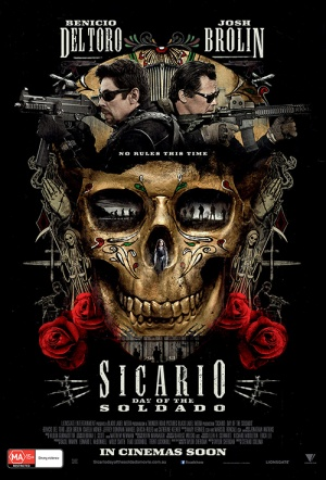 Sicario: Day of the Soldado Film Poster
