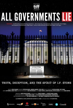 All Governments Lie Film Poster