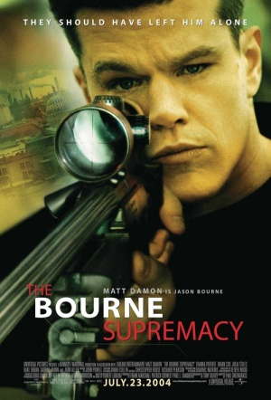 The Bourne Supremacy Film Poster