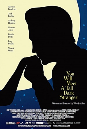 You Will Meet a Tall Dark Stranger Film Poster