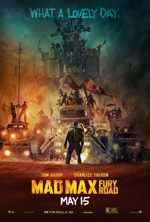 Mad Max: Fury Road 3D Film Poster