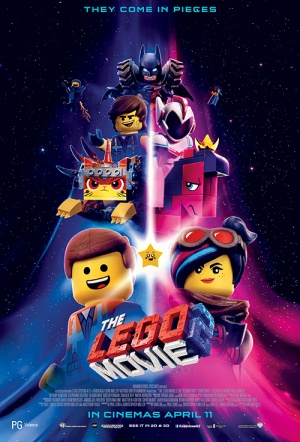 The LEGO Movie 2 3D: The Second Part Film Poster