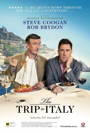 The Trip to Italy Film Poster