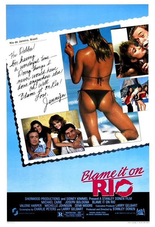 Blame it on Rio Film Poster