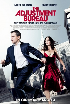 The Adjustment Bureau Film Poster