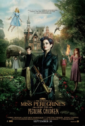 Miss Peregrine's Home for Peculiar Children 3D Film Poster