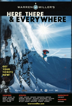 Warren Miller's Here, There & Everywhere Poster
