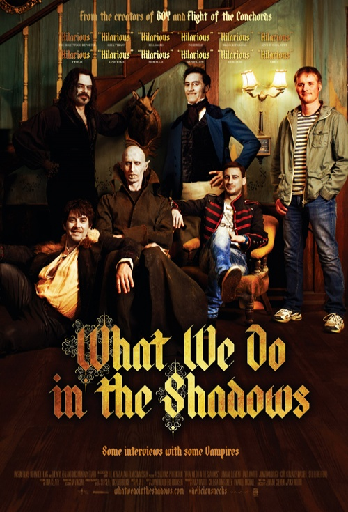 Image result for what we do in the shadows poster