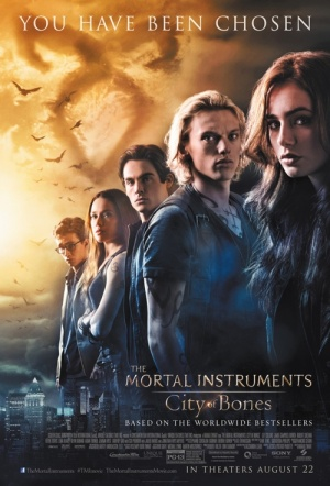 The Mortal Instruments: City of Bones Film Poster