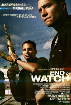 End of Watch Film Poster