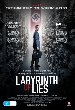 Labyrinth of Lies Film Poster