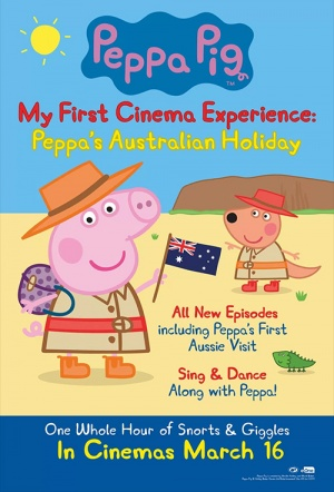Peppa Pig: My First Cinema Experience - Peppa's Australian Holiday Film Poster