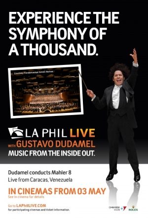 LA Phil Live: Dudamel Conducts Mahler 8 Film Poster