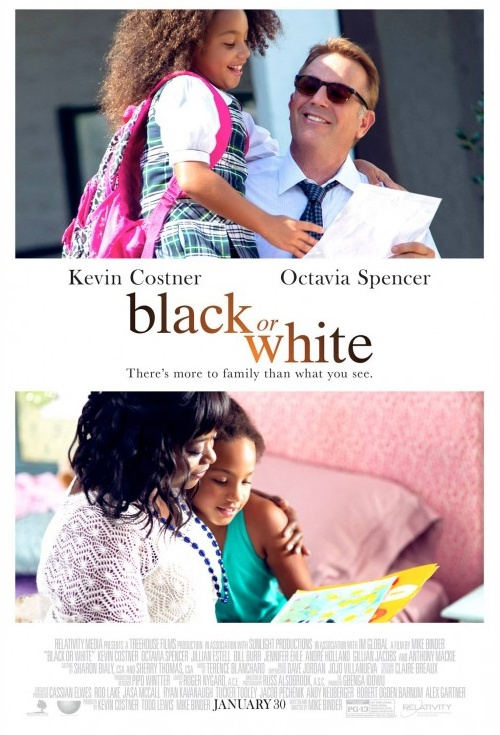 Black or White Film Poster