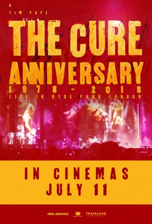 The Cure: Anniversary 1978-2018 Live in Hyde Park Film Poster