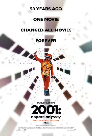 2001: A Space Odyssey (70mm) Film Poster