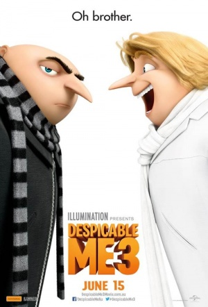 Despicable Me 3 3D Film Poster