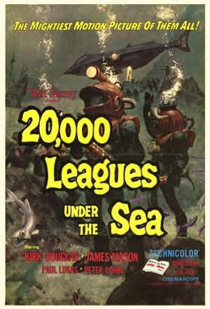 20,000 Leagues Under the Sea Film Poster