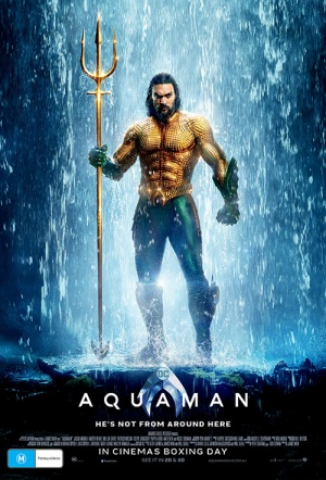 Aquaman 3D Film Poster