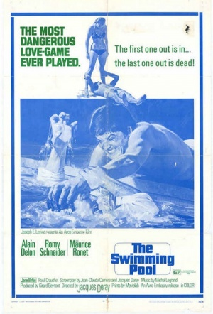 The Swimming Pool (1969) Film Poster