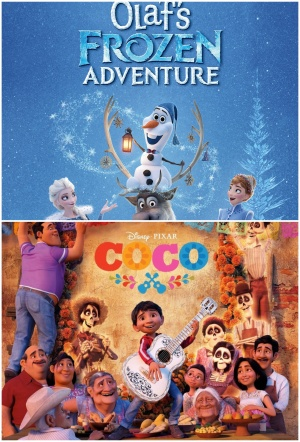 Coco + Olaf's Frozen Adventure Film Poster